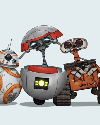 Star Wars and Walle Picture for Nokia Asha 300