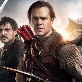 The Great Wall Movie with Matt Damon, Jing Tian, Pedro Pascal - Obrázkek zdarma pro 320x320
