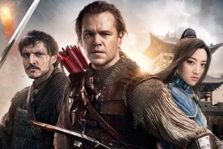 The Great Wall Movie with Matt Damon, Jing Tian, Pedro Pascal - Obrázkek zdarma pro 1366x768