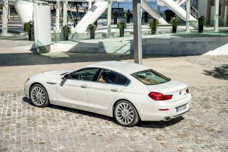 BMW 650i Gran Coupe Background for Android, iPhone and iPad