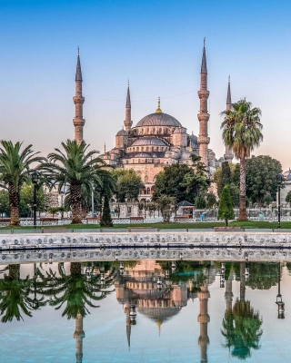Free Istanbul Mosque HD Picture for Nokia C1-01