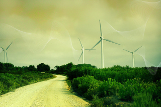 Free Wind turbine Picture for Android, iPhone and iPad