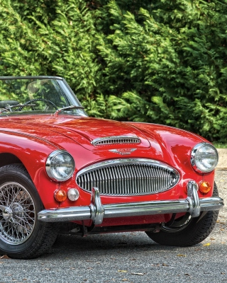 1966 Austin Healey 3000 sfondi gratuiti per iPhone 4S
