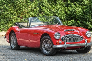 1966 Austin Healey 3000 Background for Android, iPhone and iPad