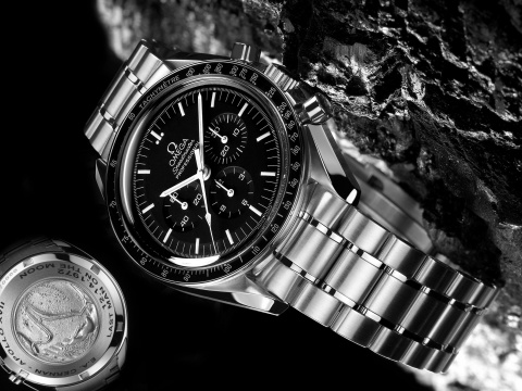 Screenshot №1 pro téma OMEGA Speedmaster Professional Moonwatch 480x360