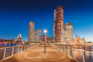 Rotterdam Background for Android, iPhone and iPad