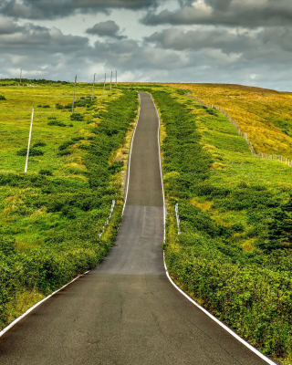 Highway in Scotland Background for Nokia C1-01
