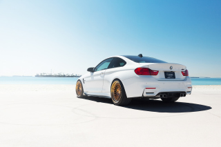 BMW M4 Grand Tourer Background for Android, iPhone and iPad