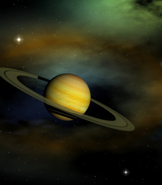 Saturn Wallpaper for HTC Titan