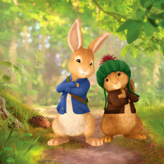 Free Peter Rabbit with Flopsy Picture for 2048x2048