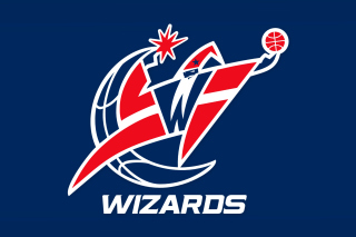 Kostenloses Washington Wizards Blue Logo Wallpaper für Android, iPhone und iPad