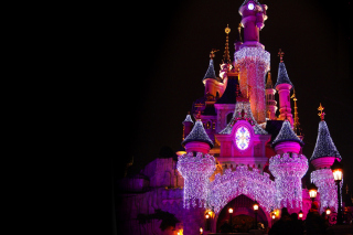 Disney Xmas Castle sfondi gratuiti per cellulari Android, iPhone, iPad e desktop