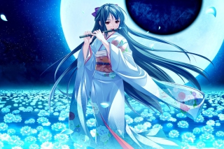 Tsukumo no Kanade - Kyuketsuki Picture for Android, iPhone and iPad