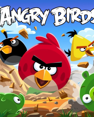 Angry Birds Rovio Adventure Background for iPhone 6 Plus