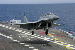 MiG 29 Fighter Aircraft Picture for Android, iPhone and iPad