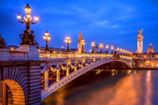 Pont Alexandre III Background for Android, iPhone and iPad