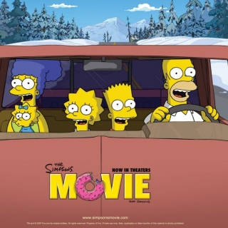 The Simpsons Movie sfondi gratuiti per iPad mini