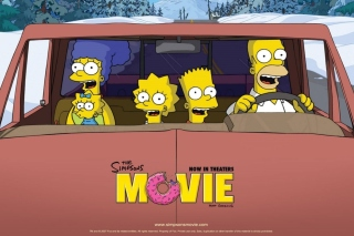 The Simpsons Movie papel de parede para celular para Nokia Asha 201