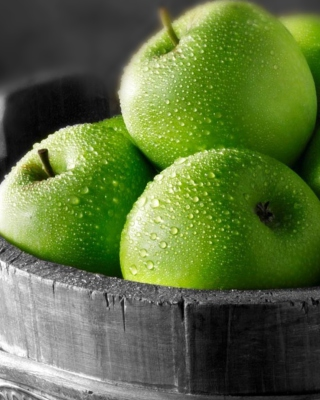 Green Apples Wallpaper for Nokia C1-01