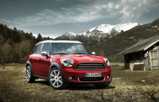 Mini Cooper Background for Android, iPhone and iPad