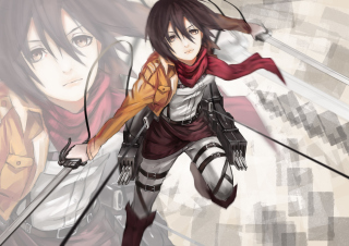 Mikasa Ackerman - Shingeki no Kyojin Wallpaper for Android, iPhone and iPad