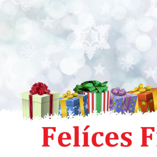 Felices Fiestas Wallpaper for iPad 2
