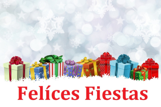 Felices Fiestas Background for Android, iPhone and iPad