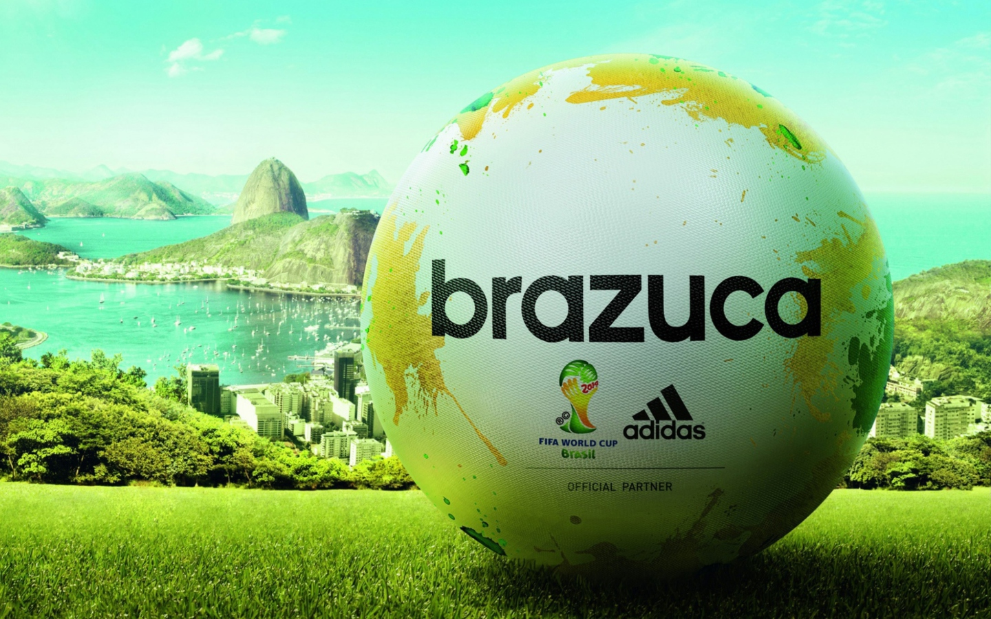Screenshot №1 pro téma Adidas Brazuca Match Ball FIFA World Cup 2014 1440x900