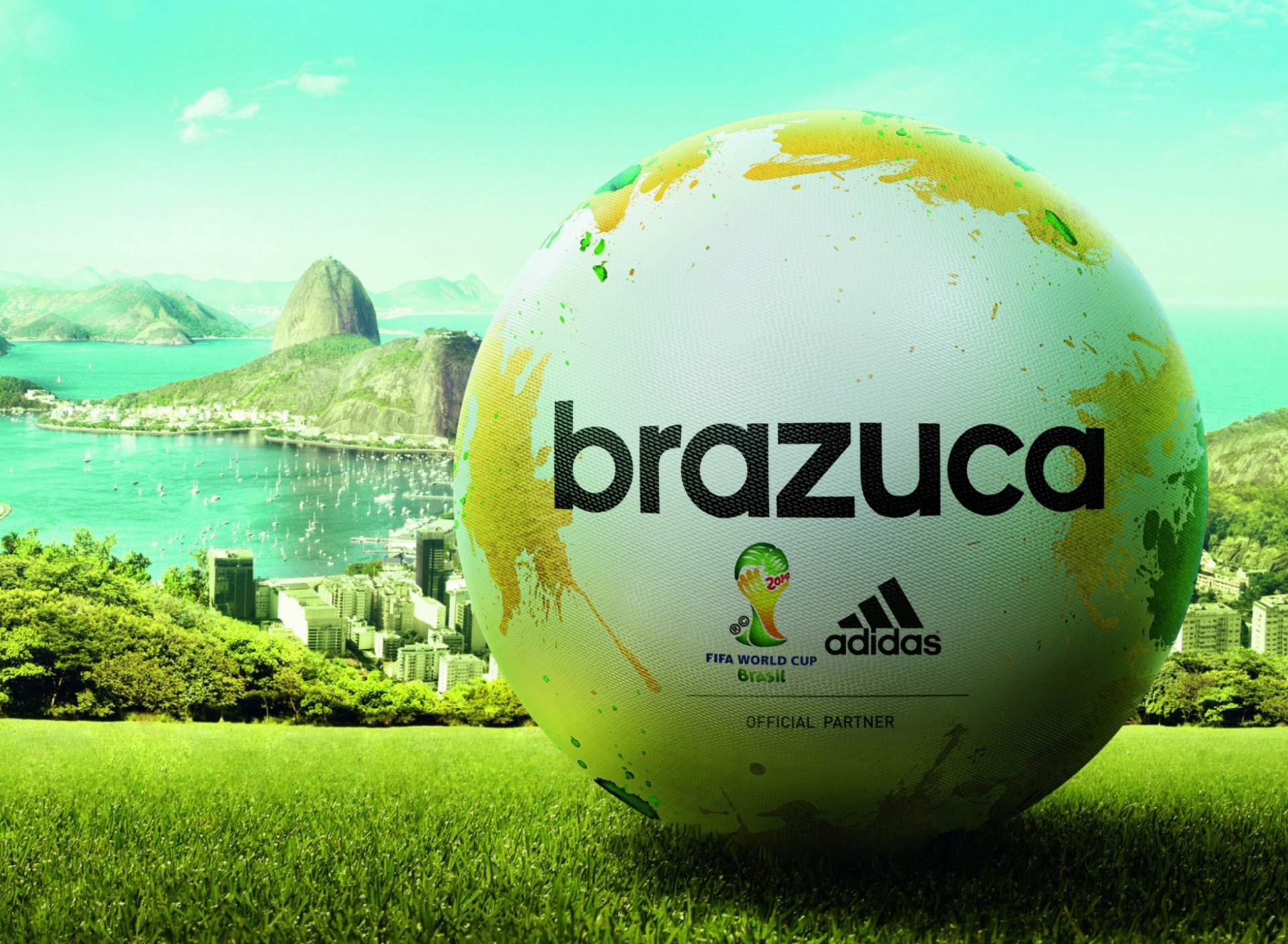 Screenshot №1 pro téma Adidas Brazuca Match Ball FIFA World Cup 2014 1920x1408