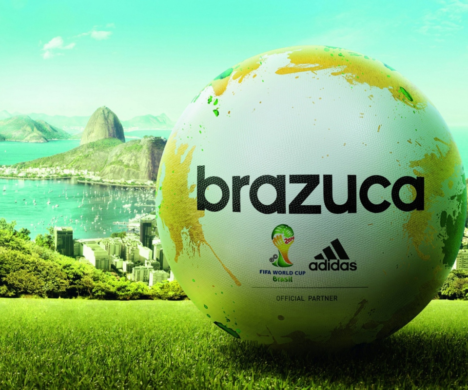 Screenshot №1 pro téma Adidas Brazuca Match Ball FIFA World Cup 2014 960x800