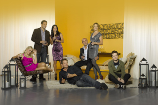 Cougar Town Background for Android, iPhone and iPad