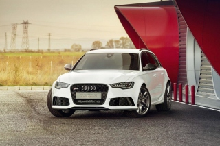 Free Audi RS6 Quattro Picture for Android, iPhone and iPad