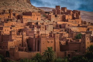 Morocco Castle Background for Samsung Galaxy Nexus