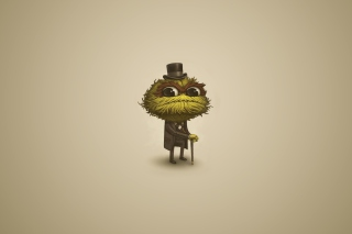 Sesame Street Oscar The Grouch Wallpaper for Android, iPhone and iPad