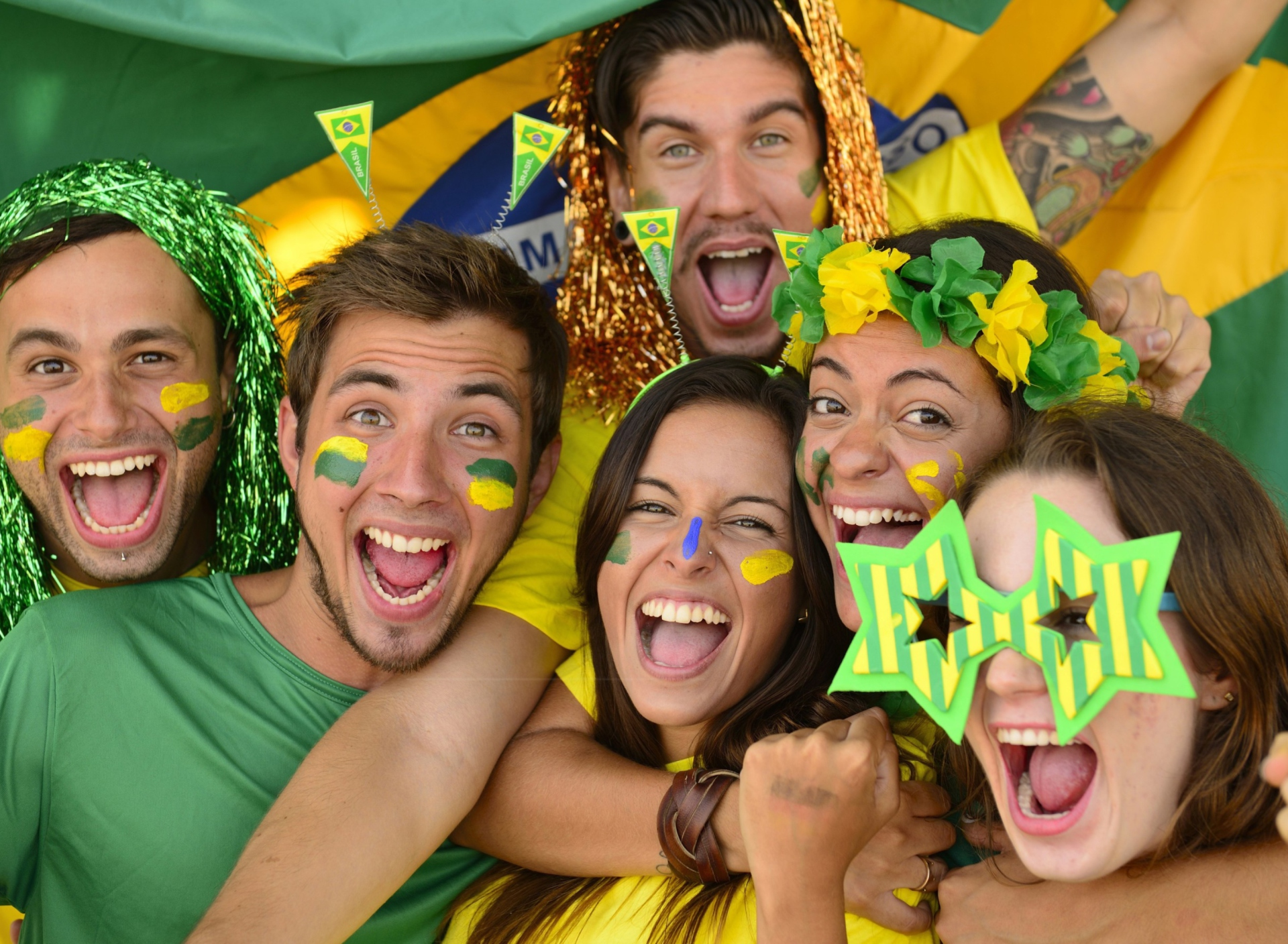 Screenshot №1 pro téma Brazil FIFA Football Fans 1920x1408