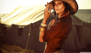 Cowgirl Picture for Android, iPhone and iPad