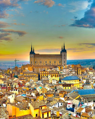 Toledo Spain Background for Nokia C2-06