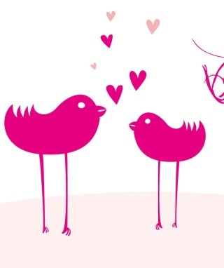 Birdie Love sfondi gratuiti per iPhone 6
