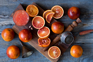 Grapefruit and Juice Background for Android, iPhone and iPad