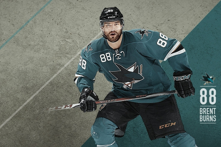 Brent Burns from San Jose Sharks wallpaper