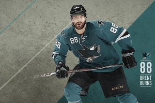 Brent Burns from San Jose Sharks - Obrázkek zdarma pro Widescreen Desktop PC 1600x900