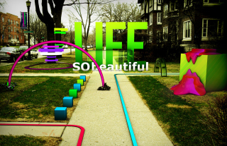 Life Is Beautiful Background for Android, iPhone and iPad