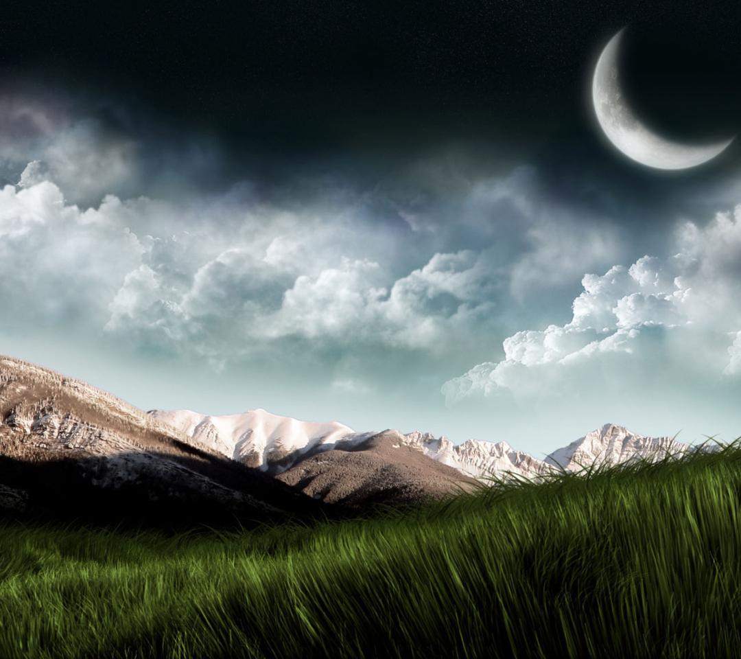 3D Moon Landscape Photography para Motorola RAZR XT910