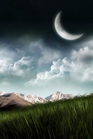 3D Moon Landscape Photography para Huawei G7300