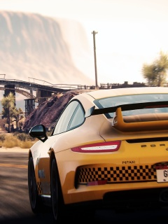 Screenshot №1 pro téma Need For Speed Rivals 240x320