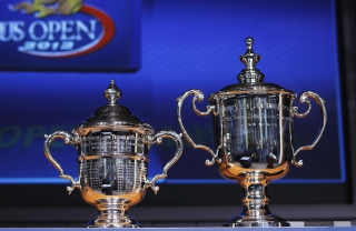 US Open Trophy Tennis Background for Android, iPhone and iPad