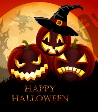 Happy Halloween Picture for Nokia Asha 310