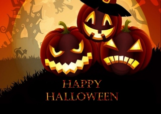 Happy Halloween Wallpaper for Android, iPhone and iPad