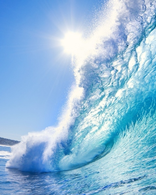 Blue Wave Wallpaper for iPhone 6 Plus