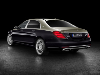 Sfondi Mercedes Maybach S560 2018 320x240